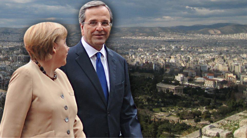 Σε λίγο φτάνει η Μέρκελ στην Αθήνα