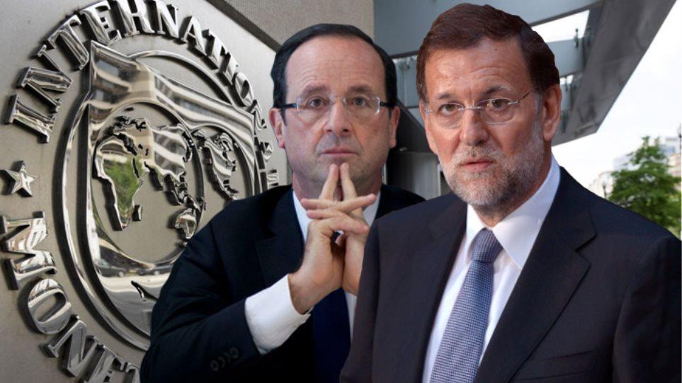 Ολάντ και Ραχόι θέλουν την Ελλάδα στο ευρώ