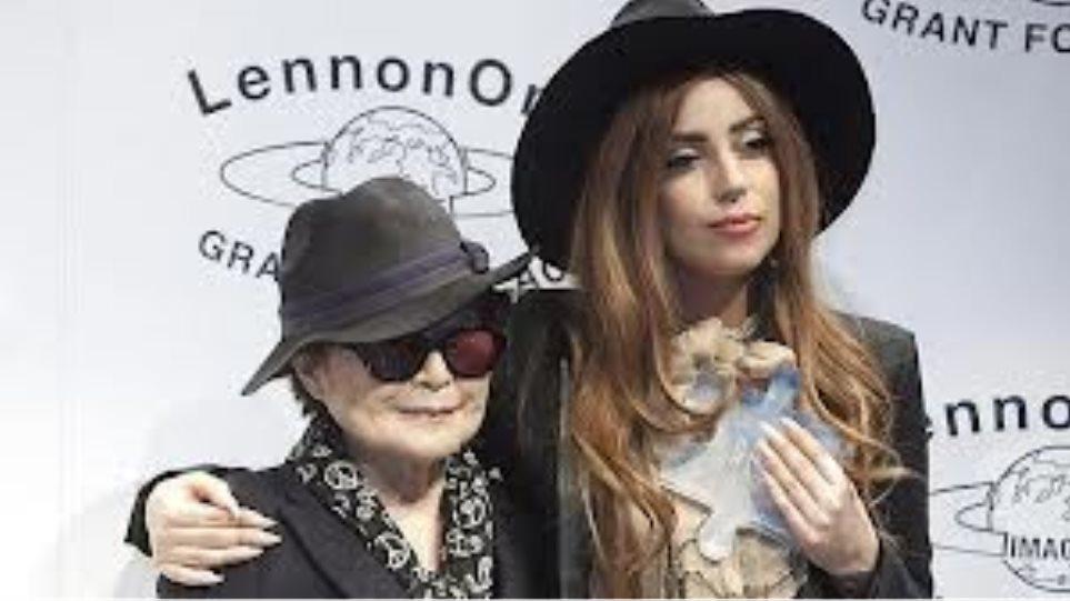 """Το βραβείο Ειρήνης """"Lennon Ono"""" στη Lady Gaga"""