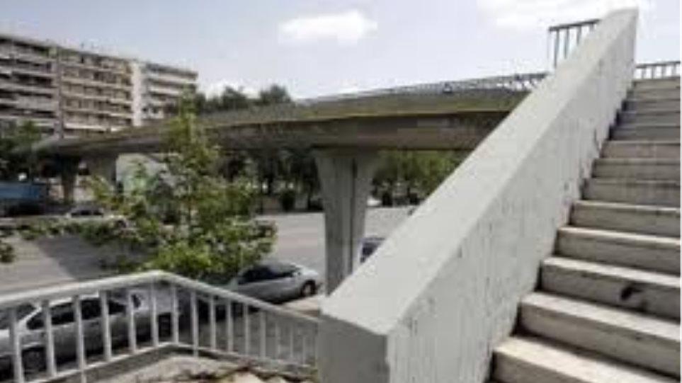 Επτά νέες πεζογέφυρες αποκτά η Αθήνα