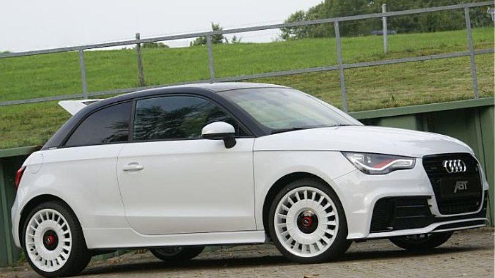 Ενα Audi Α1 με 256 PS