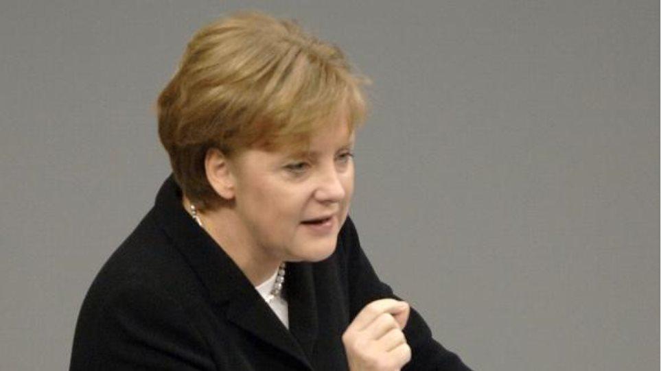 Δέσμευση Μέρκελ για στήριξη της κατανάλωσης στη Γερμανία