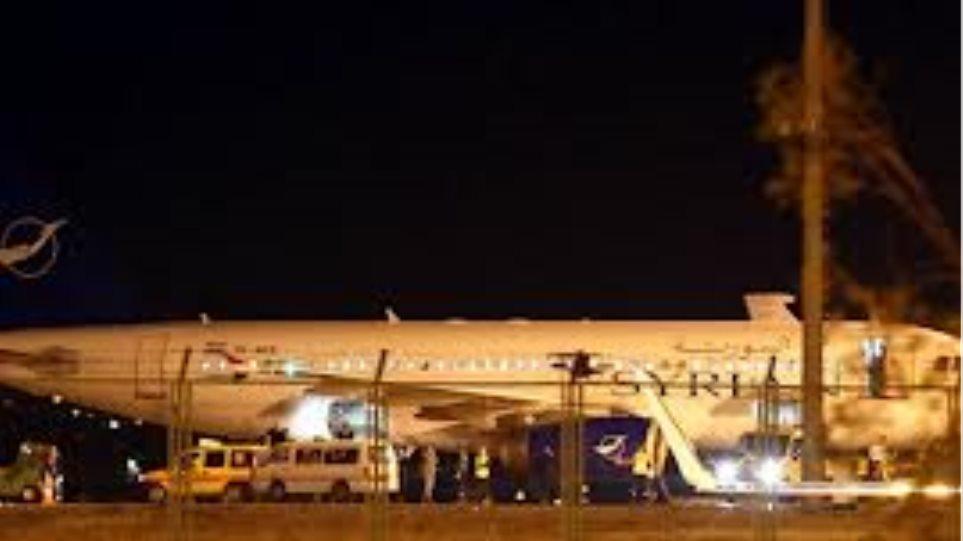 Για «αεροπειρατεία» κατηγορεί η Δαμασκός την Άγκυρα