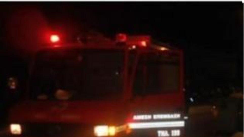 Ολική καταστροφή στα γραφεία της ΔΗΜΑΡ στην Καισαριανή