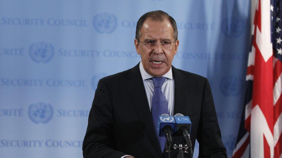 Μεγάλο γεωπολιτικό παιχνίδι παίζεται στη Συρία, δήλωσε ο ΥΠΕΞ Λαβρόφ