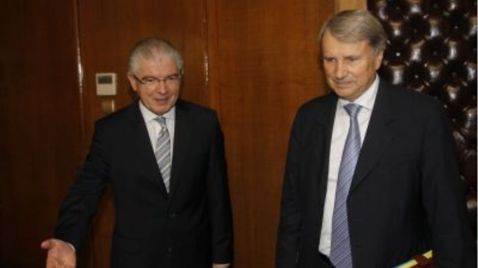 Οι μεταρρυθμίσεις στην Υγεία στη συνάντηση Λυκουρέντζου - Ράιχενμπαχ