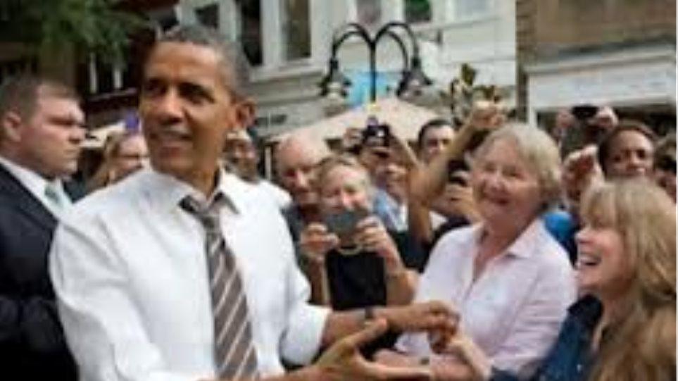 Ο Ομπάμα επισκέφτηκε τέσσερις πολιτείες σε μία ημέρα!