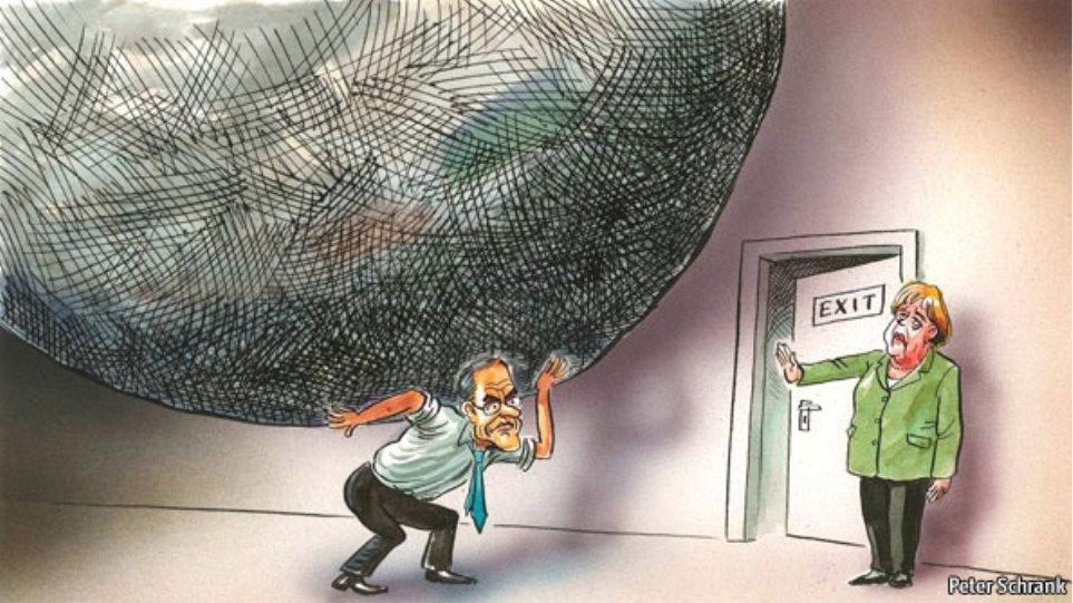 Με τον Άτλαντα παρομοιάζει το Economist τον Σαμαρά