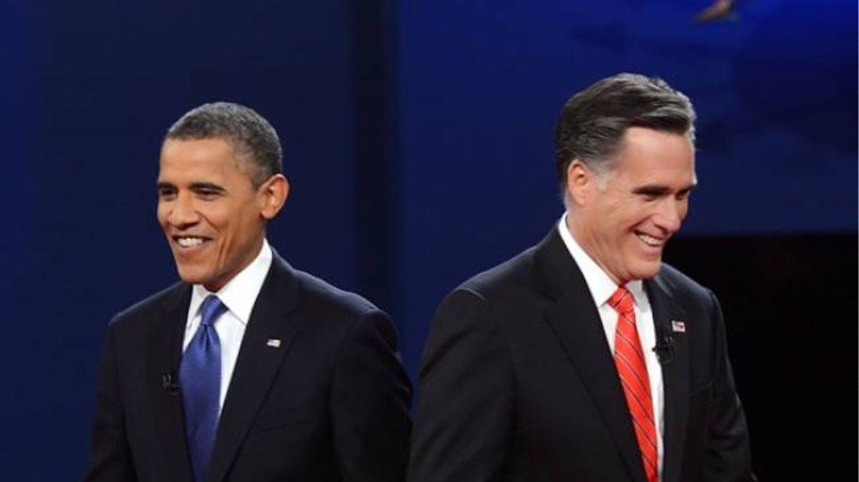 Νικητή τον Ρόμνεϊ αλλά πρόεδρο… τον Ομπάμα προβλέπουν αναλυτές