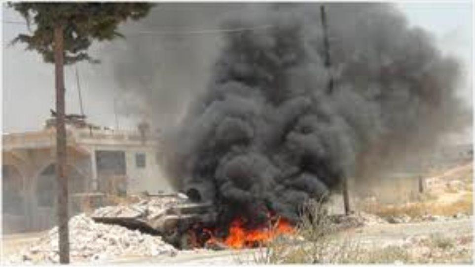 Τρεις νεκροί και επτά τραυματίες από όλμο στη Δαμασκό
