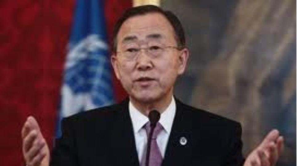 Ο Μπαν Κι-μουν συγχαίρει τον Ομπάμα για την επανεκλογή του