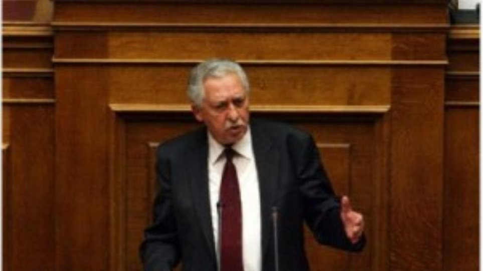 Φ. Κουβέλης «Η θέση μας παραμένει αμετακίνητη-Ψηφίζουμε παρών»