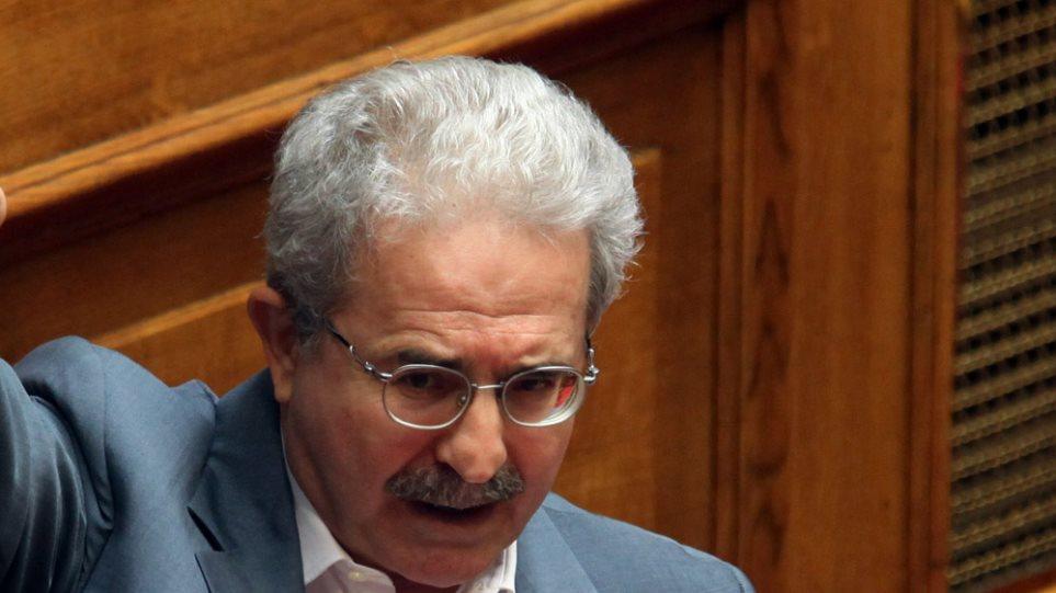 Ανεξαρτητοποιείται ο βουλευτής του ΠΑΣΟΚ Μίμης Ανδρουλάκης