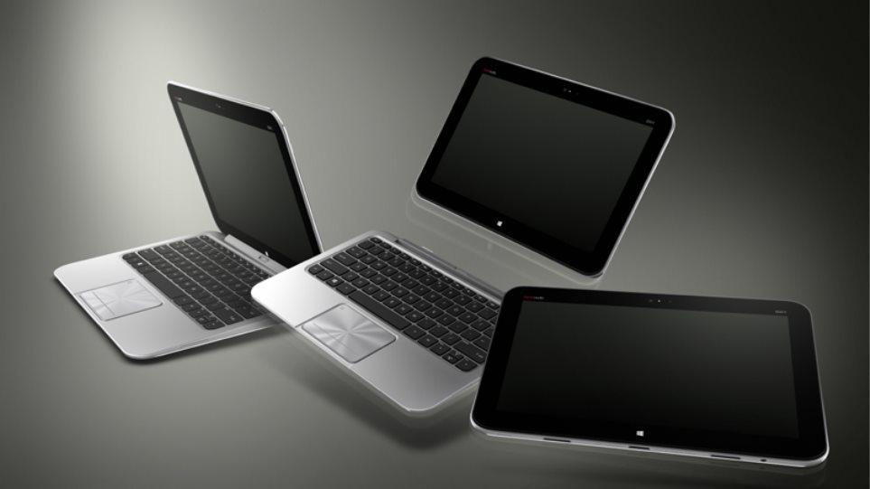 Υβριδικά PCs με Windows 8 από την HP