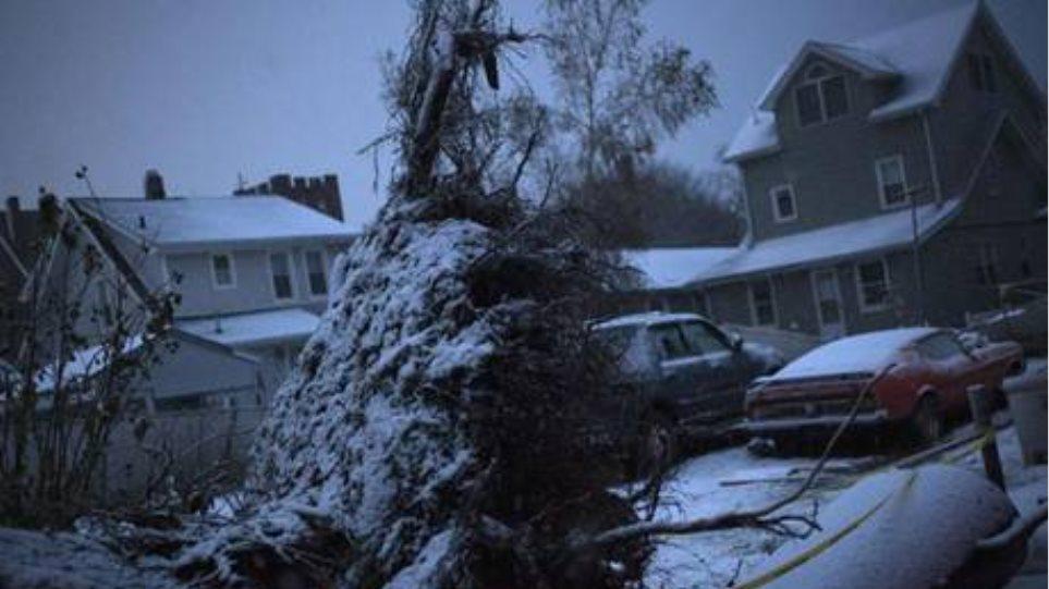 Νέα καταιγίδα πλήττει τις ΗΠΑ μετά τον «Σάντι»