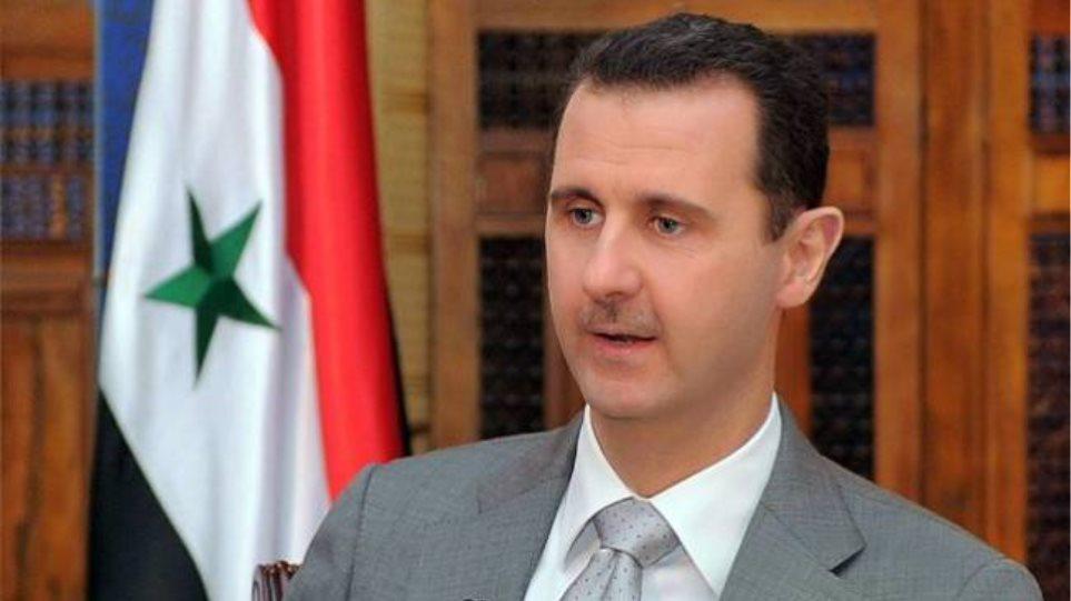 Άσαντ: «Δεν έχουμε εμφύλιο πόλεμο»