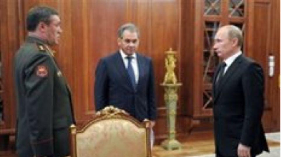 «Καρατόμησε» και τον αρχηγό του ρωσικού στρατού ο Πούτιν