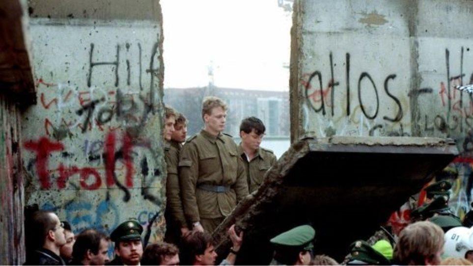 23 χρόνια από το «Τείχος της ντροπής»