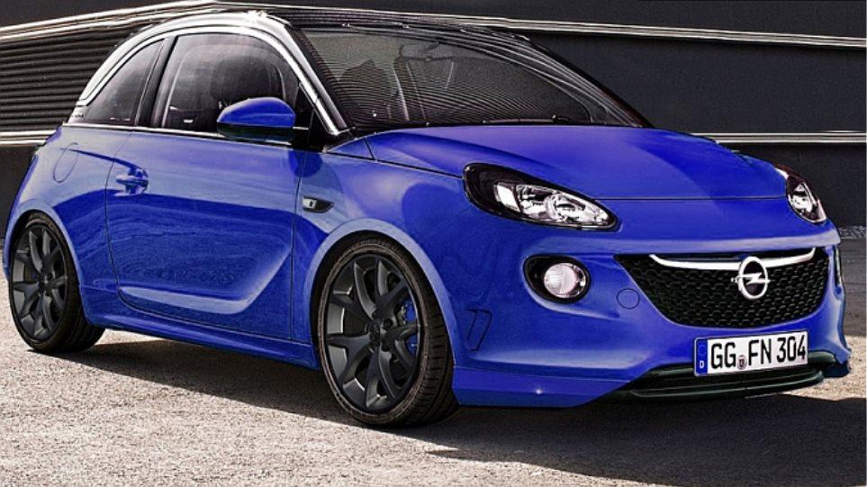 Ερχεται και... καυτό Opel Adam
