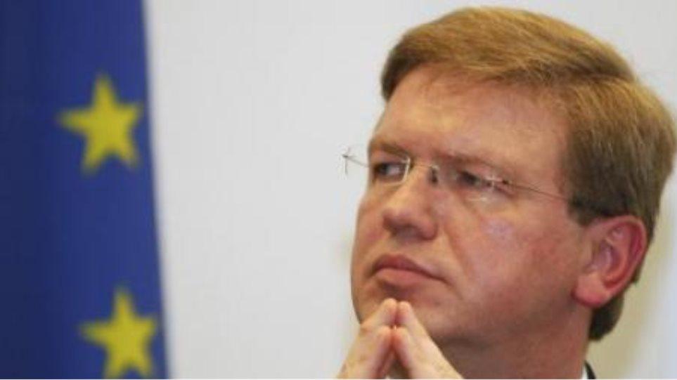 Φούλε: «Διαπραγματεύσεις με ΠΓΔΜ χωρίς λύση στην ονομασία»