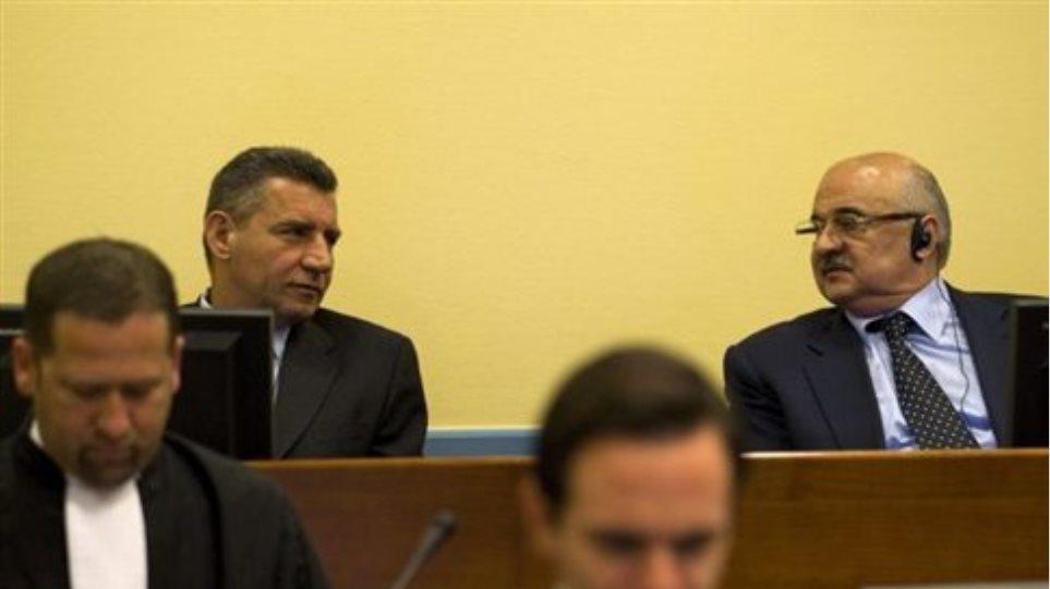 Χάγη: Αθώοι Κροάτες στρατηγοί για εγκλήματα κατά των Σέρβων