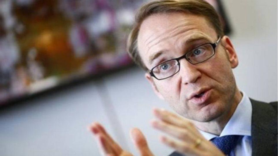 Βάιντμαν: Μεγάλο ρίσκο για την ΕΚΤ η εποπτεία των τραπεζών