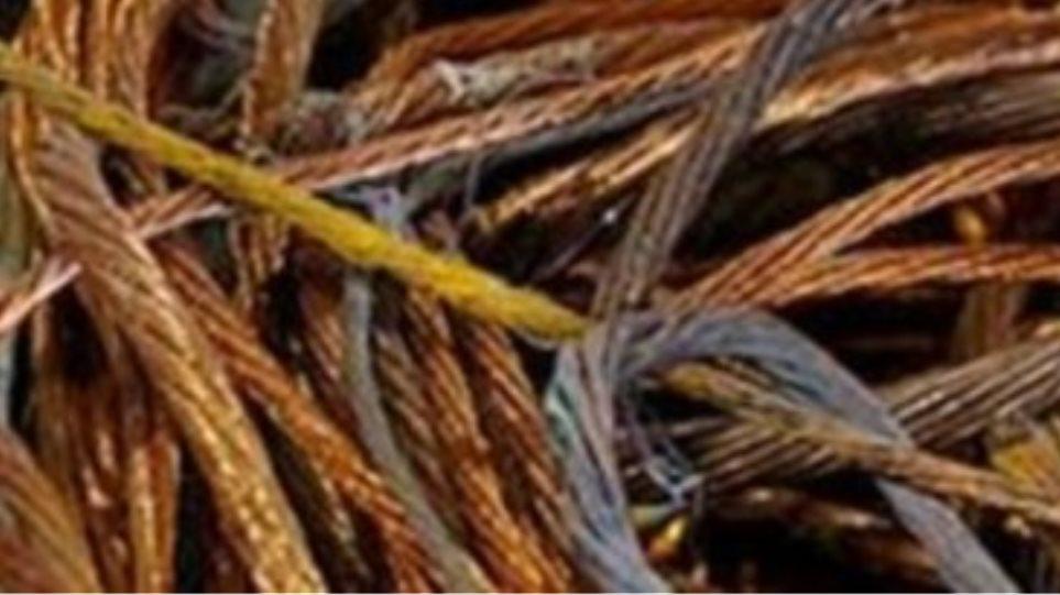 Λάρισα: Έκλεψαν καλώδια χαλκού από αποθήκη του ΟΤΕ