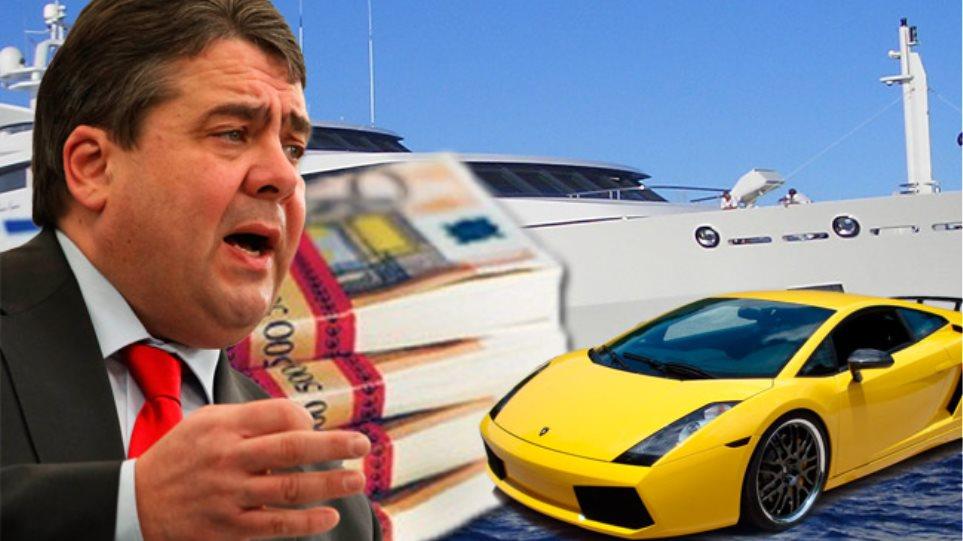 Ζ. Γκάμπριελ: «Παγώστε τις περιουσίες των πλούσιων Ελλήνων στην Ευρώπη!»