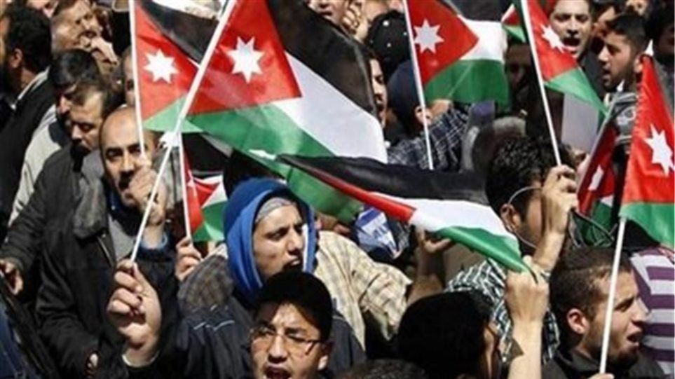 «Αλλαγή καθεστώτος» ζητούν στην Ιορδανία
