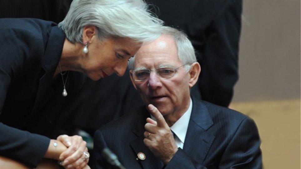 Μονομαχία Λαγκάρντ - Σόιμπλε στο Eurogroup