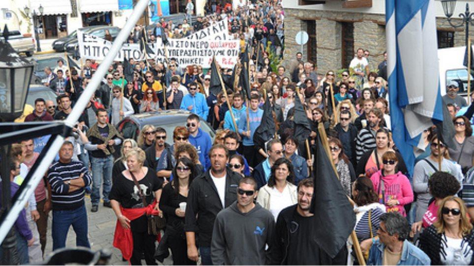 Πολύγυρος: Ελεύθεροι οι προσαχθέντες για την υπόθεση του εμπρησμού στις Σκουριές