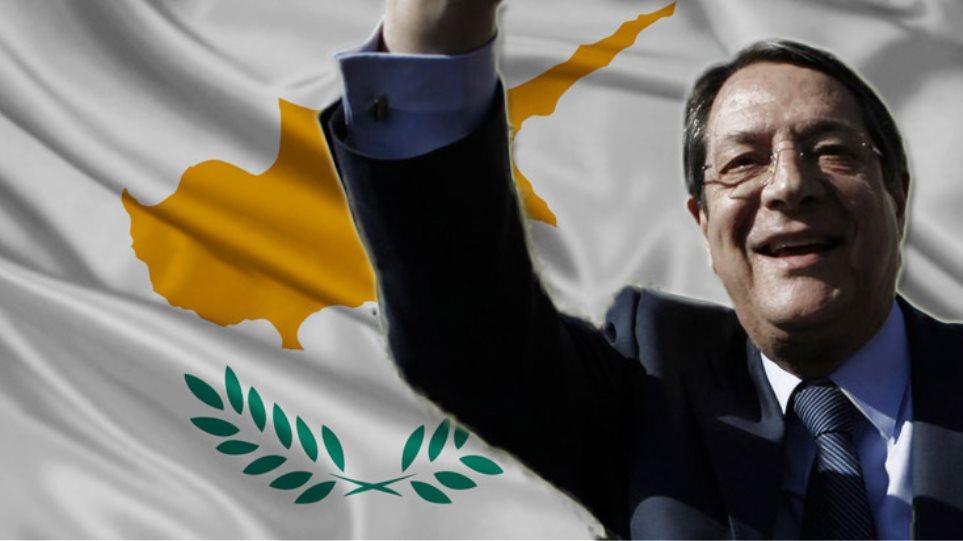 Ο Νίκος Αναστασιάδης νέος πρόεδρος της Κυπριακής Δημοκρατίας με ποσοστό 57,48%