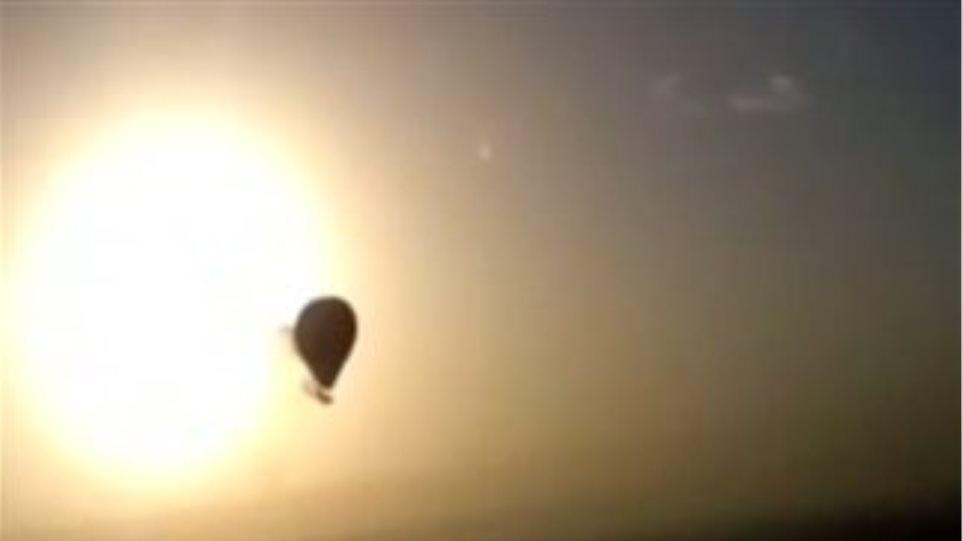 Δείτε το βίντεο της πτώσης του αερόστατου στην Αίγυπτο!