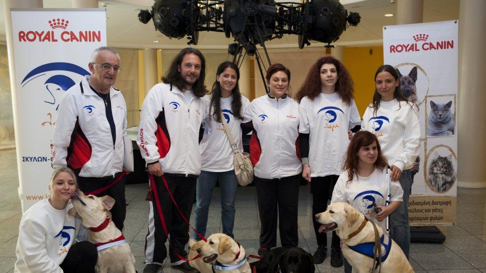 Ο πρώτος Έλληνας εκπαιδευτής σκύλων-οδηγών για τυφλούς