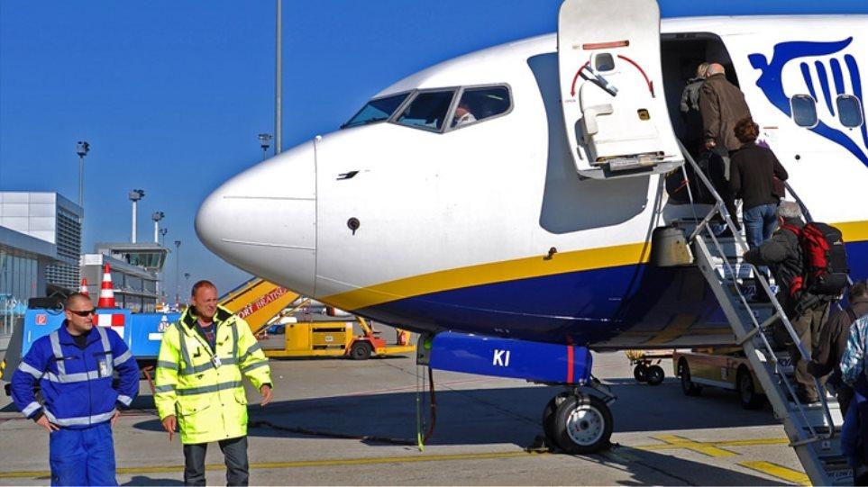 Ryanair: Θα φέρνουμε 10 εκατ. τουρίστες αν μας δίνετε 150 εκατ. ευρώ το χρόνο