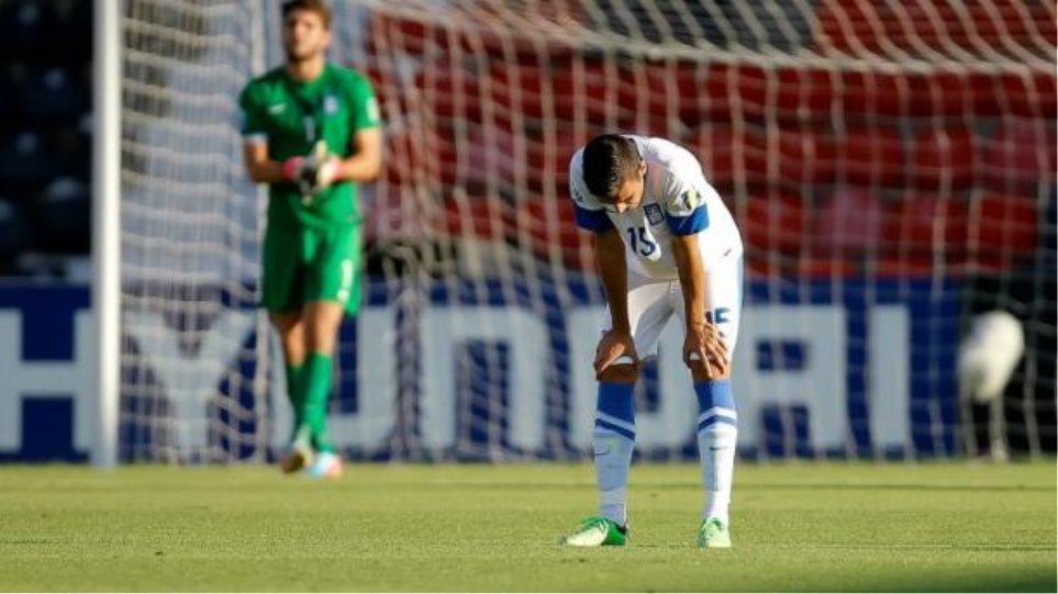 Ήττα 3-1 από το Ουζμπεκιστάν και αποκλεισμός για την Εθνική στο Παγκόσμιο Κύπελλο Νέων