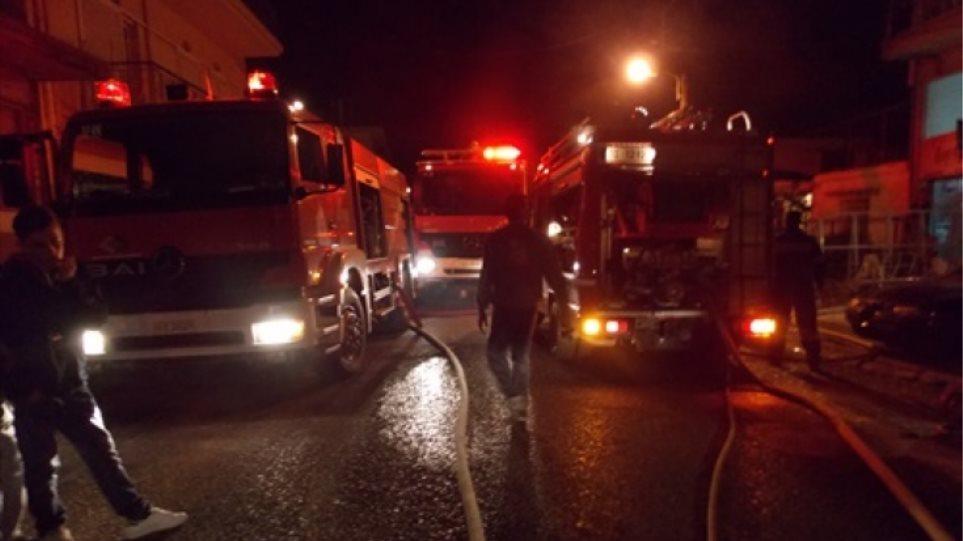 Χανιά: Φωτιά κατέστρεψε ολοσχερώς σπίτι