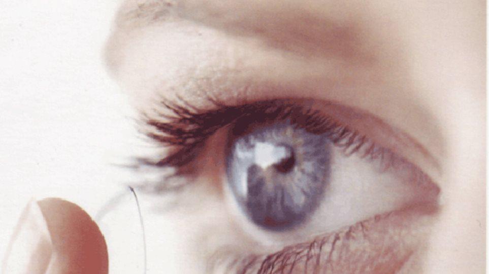 Φακοί επαφής που μεγαλώνουν 2,8 φορές το οπτικό πεδίο