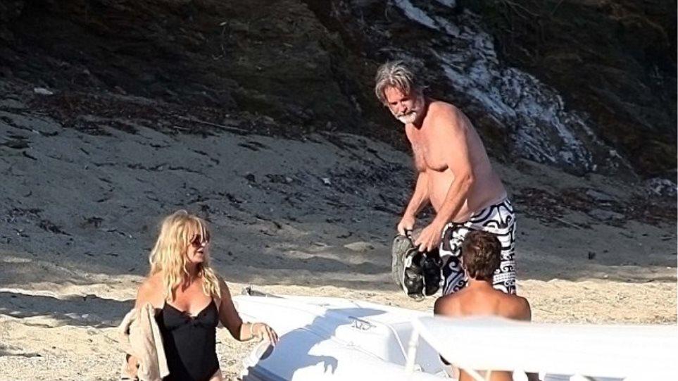 Goldie Hawn- Kurt Russell: Διακοπές στην Ελλάδα