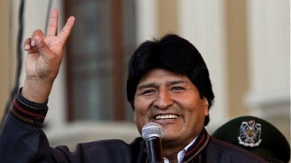 Στο πλευρό του Μοράλες οι ηγέτες των κρατών της Λατινικής Αμερικής
