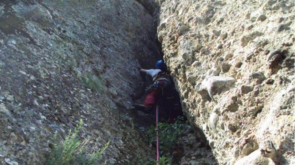 Διάσωση ορειβάτη στις Πάδες Πίνδου
