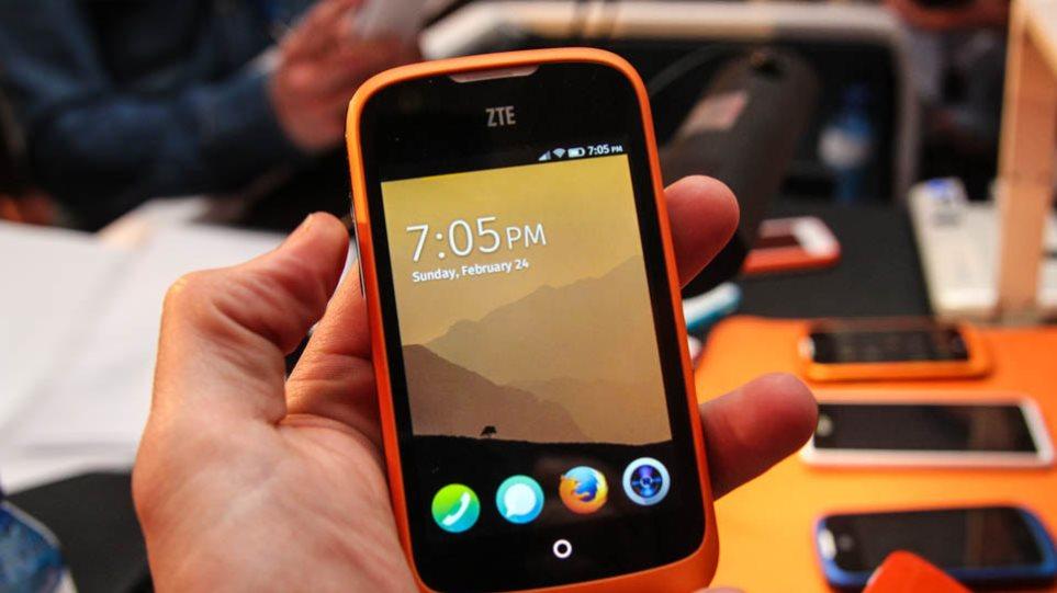 Κυκλοφόρησε το πρώτο smartphone με λειτουργικό σύστημα Firefox