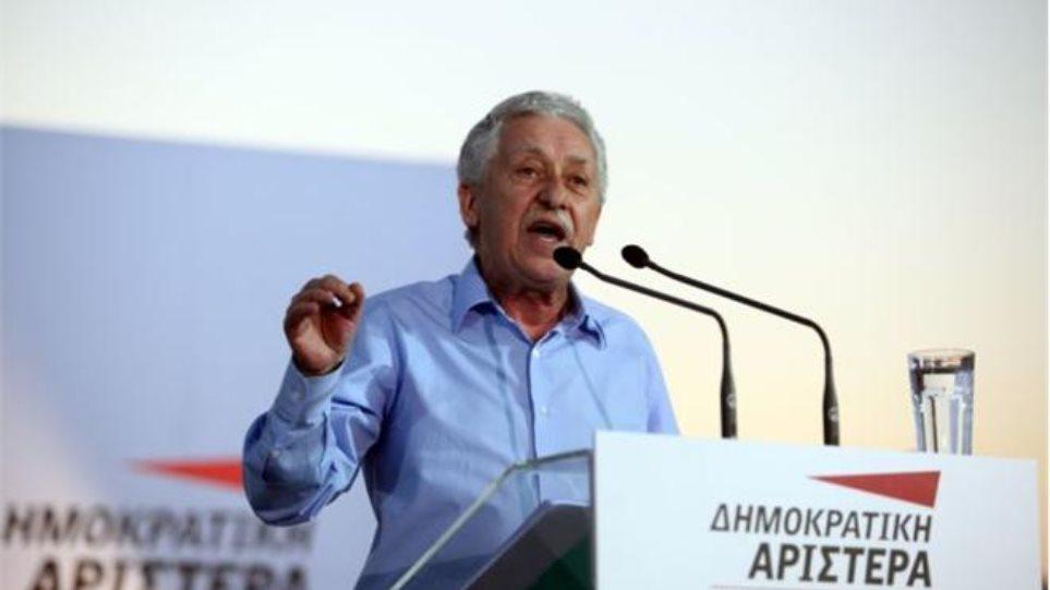 Εκλογές στην Ελλάδα μετά τις εκλογές στη Γερμανία «βλέπει» ο Φώτης Κουβέλης