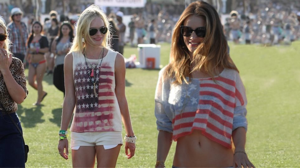 4th of July: Φορώντας την αμερικάνικη σημαία