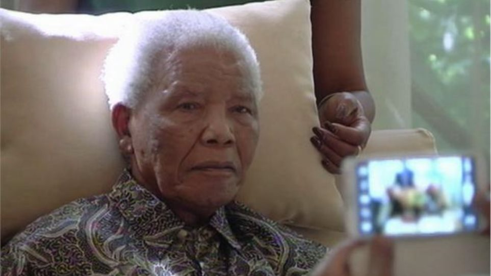 Ο Μαντέλα δεν υποφέρει, δήλωσε η σύζυγός του Γκράσα Μασέλ
