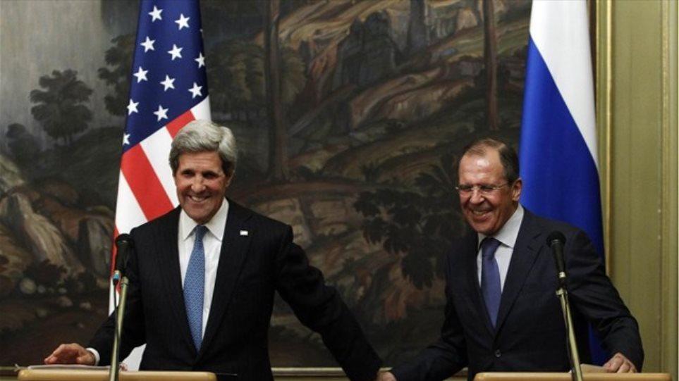 Συρία, πυραυλική άμυνα και όπλα στο τραπέζι των Κέρι - Λαβρόφ