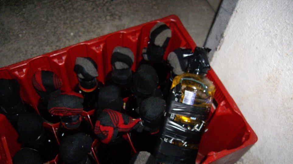 Βόμβες μολότοφ μέσα στο Αριστοτέλειο Πανεπιστήμιο