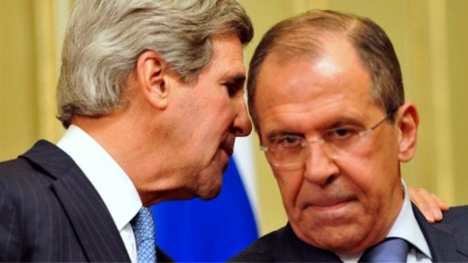Λαβρόφ, Κέρι και Μπραχίμι συμφώνησαν σε πολιτική λύση στη Συρία