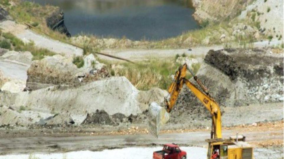 Κατολίσθηση στο ορυχείο της ΔΕΗ στη Μεγαλόπολη