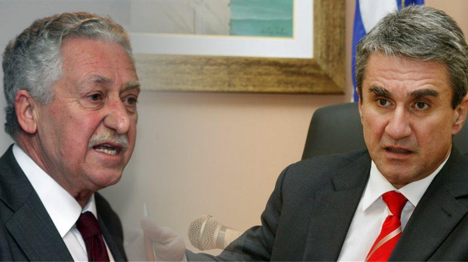 «Έκλεισε» η συμφωνία Κουβέλη - Λοβέρδου